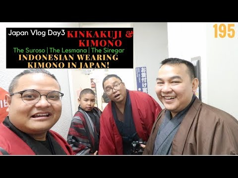 Xxx Mp4 Indonesian Wearing KIMONO In Japan Day 3 Kinkakuji Temple Kimono JAPAN Vlog195 3gp Sex