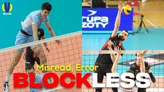 Misread ● Error ● Blockless Spikes | Volleyball Epic Moments