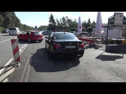 BMW M5 V10 Прямоток. Звук чумавой