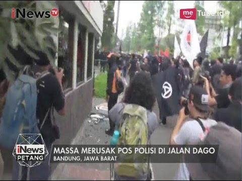 Xxx Mp4 Oknum Mahasiswa Yang Peringati Hari Buruh Di Bandung Rusak Pos Polisi INews Petang 01 05 3gp Sex