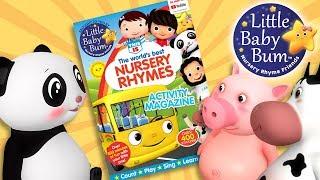 Little Baby Bum Magazine! Lots Of Activities! | Nursery Rhyme Friends