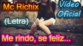 😟Me rindo sé feliz💔→(Rap Romantico) Mc Richix + (LETRA)