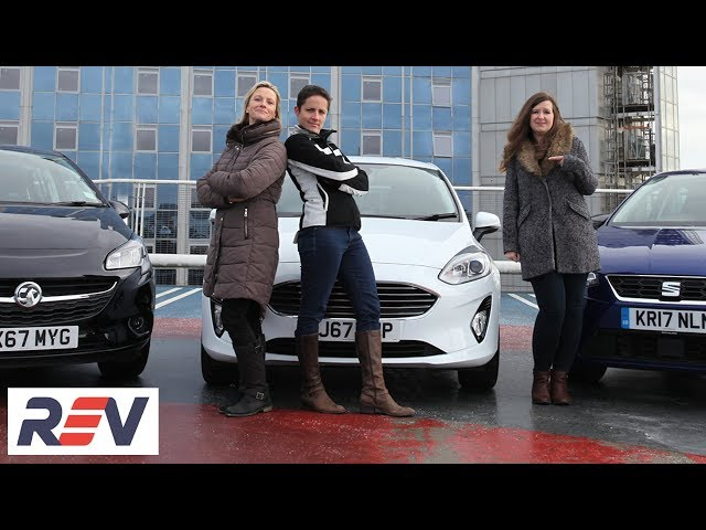 The REV Test: Small hatchbacks - Three women, three cars. Which is the winner?
