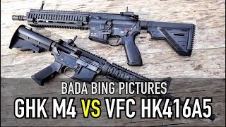GHK M4 vs VFC HK416A5 GBB: Which is best?