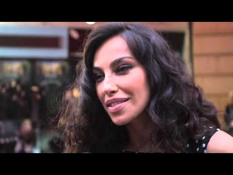 Madalina Ghenea (Miss Universe) Interview - Youth London Film Festival Premiere