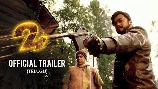 24 Official Trailer- Telugu | Suriya | Samantha | Nithya Menen | AR.Rahman | Vikram K Kumar