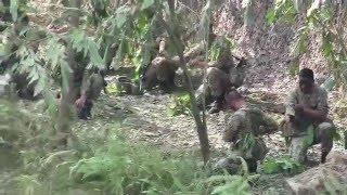 demo solat medan oleh KAGAT Tentera Darat Malaysia by the realblackdaggers