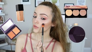 Full Face First Impressions   Trying NEW Makeup!