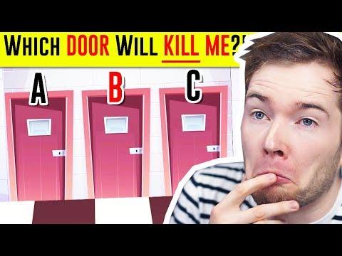 Solve the RIDDLE Survive The KILLER DOOR