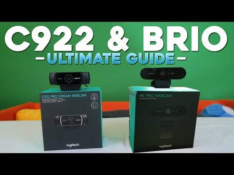Logitech C922 & BRIO Ultimate Guide Setup Quality Green Screen Lighting & Troubleshooting