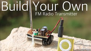 How to build a FM radio transmitter