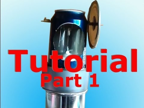 Stirling Engine Tutorial Plans How To Part 1 of 2 beta