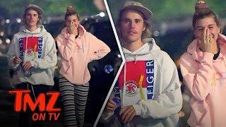Bieber Flaunts A Wedding Ring! | TMZ TV
