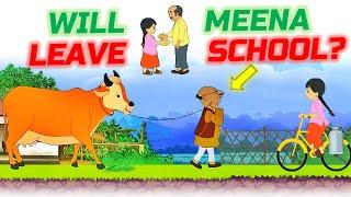 Meena Game : Will Meena Leave School - Level 3 # Episode 3