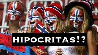 HIPOCRISIA NA ESCANDINAVIA!