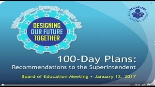 Special Board of Education Meeting, Superintendent