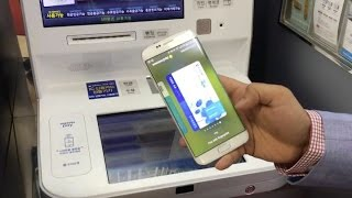 Use your phone as an ATM with Samsung Pay