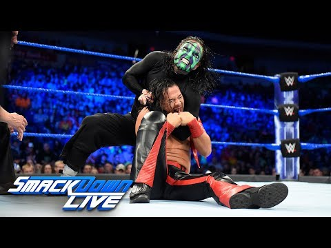 Xxx Mp4 Jeff Hardy Vs Shinsuke Nakamura United States Championship Match SmackDown LIVE July 17 2018 3gp Sex