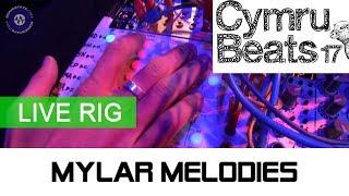 Mylar Melodies Rig At Cymru Beats