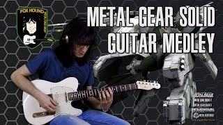 METAL GEAR SOLID: The Complete Guitar Medley「メタルギアソリッド メドレー」by #stoppaz