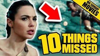 WONDER WOMAN Trailer 2 - Easter Eggs, Things Missed & DC
