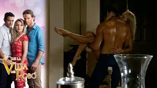 Monserrat y Alejandro se reconcilian | Lo que la vida me robo - Televisa