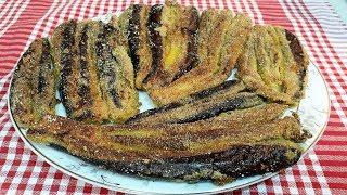 Mısır Unlu Patlıcan Kızartması Tarifi - Kızartma Tarifleri