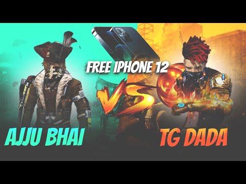Ajjubhai94 vs TG DADA Free iPhone 12 for DADA Garena Free Fire