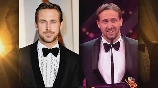 Man Pretending To Be Ryan Gosling Accepts Award On His Behalf As Oscars Spoof