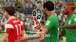 PS4 FIFA 18 Gameplay Russia vs Saudi Arabia [HD]
