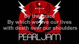 Pearl Jam - Sirens (lyrics)