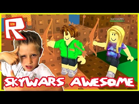 Skywars AWESOMENESS | Roblox