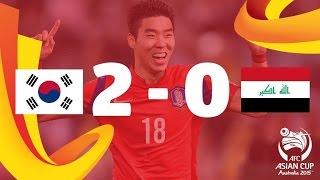 SF1: Korea Republic vs Iraq - AFC Asian Cup Australia 2015