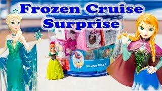 FROZEN Disney Frozen Surprise Eggs Elsa & Anna Disney Cruise Surprise Egg Video