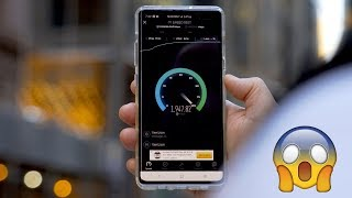 Samsung Galaxy S10 5G SPEED TEST!