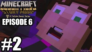 Minecraft Story Mode Episode 6 Gameplay Walkthrough Part 2 - No Commentary