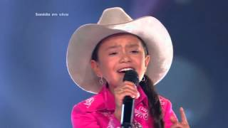 Loren cantó Mi salón está de fiesta de B. Bermúdez – LVK Col – Audiciones a ciegas – Cap 17 – T2