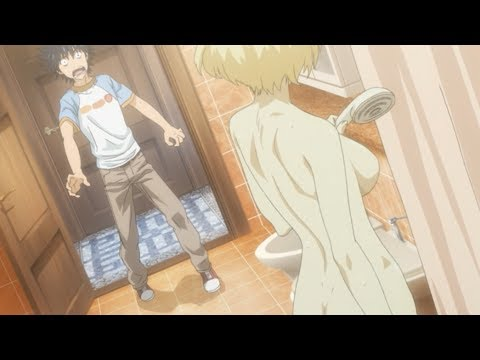 Which one is the bathroom? [Funny Anime Scene #33]