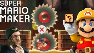 What's behind the SAW? | Subscriber Levels [#04] - Super Mario Maker