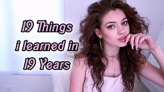 19 Things I Learned in 19 Years | Dytto