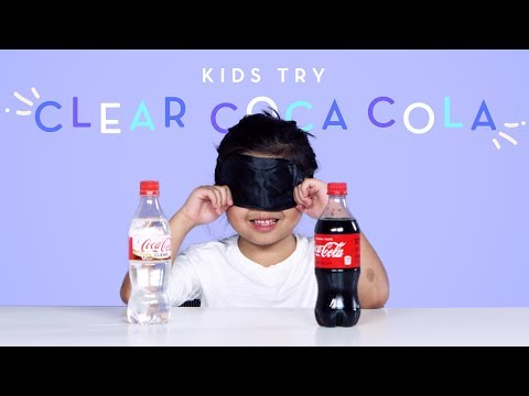 Kids Try Clear Coca Cola Kids Try HiHo Kids