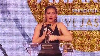 2016 XBIZ Awards - Dani Daniels Wins 'Female Performer of the Year' Award