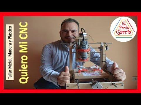✅ Quiero Mi CNC Como se hace Talla Metal Madera Plástico e impresos PCB 1