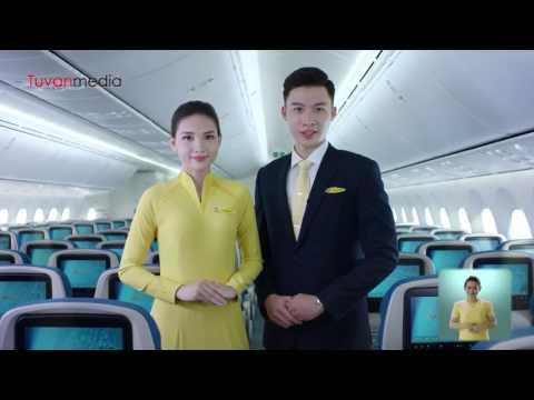 Vietnam Airlines Safety Hướng dẫn An toàn bay VNA do Tứ Vân san xuat Sản xuất phim quảng cáo