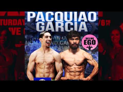 Manny Pacquiao Wants Danny Garcia Fight Next!!! 140 Lbs