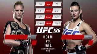 UFC 196: Inside The Octagon - Holm vs. Tate