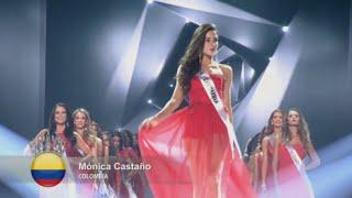 Miss Colombia Monica Castaño en Miss Supranational 2015 -  2nd Runner Up