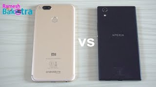 Sony Xperia R1 Plus vs Mi A1 Speed and Camera Compare