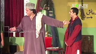 Zafri Khan and Hassan Murad New Pakistani Stage Drama Full Comedy Clip