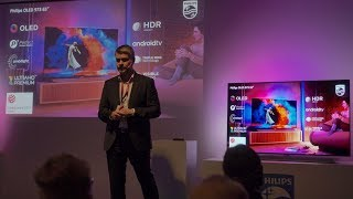 Philips TVs 2018: OLED, HDR10+, Android 7, Saphi, Next Gen Processor